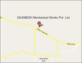 Location Map - DASMESH Mechanical Works Pvt. Ltd.